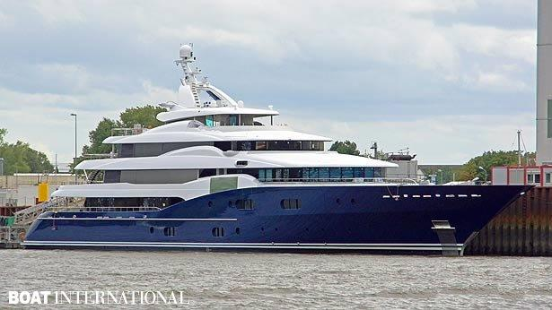 Top 200 largest yachts in the world Superyacht Amaryllis