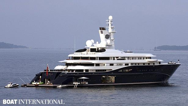 Top 200 largest yachts in the world Superyacht Al Mirqab