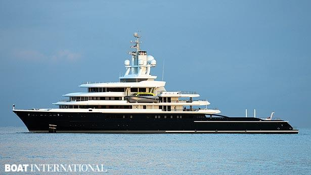Top 200 largest yachts in the world Superyacht Luna