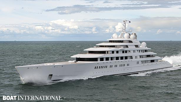 Top 200 largest yachts in the world Superyacht Azzam