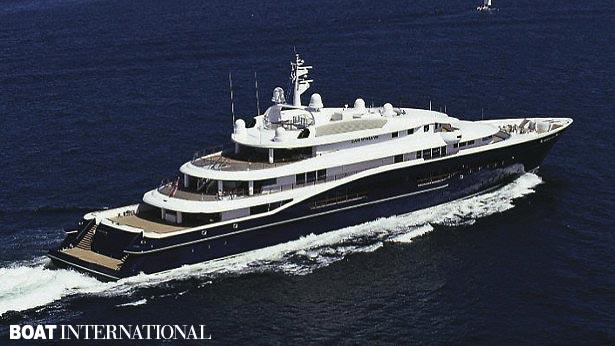 Top 200 largest yachts in the world Superyacht Carinthia VII