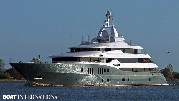 Top 200 largest yachts in the world Superyacht Titan