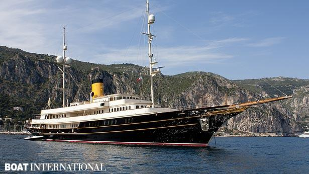 Top 200 largest yachts in the world Superyacht Nero
