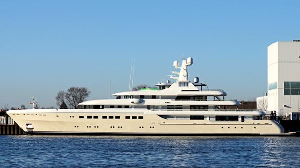 Top 200 largest yachts in the world Superyacht Kibo