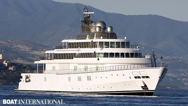 Top 200 largest yachts in the world Superyacht Rising sun