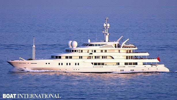 Top 200 largest yachts in the world Superyacht Tueq