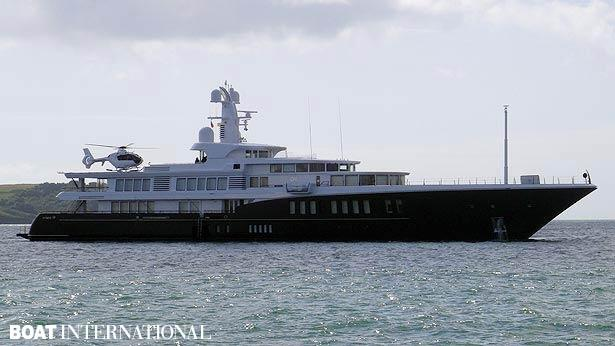 Top 200 largest yachts in the world Superyacht Air