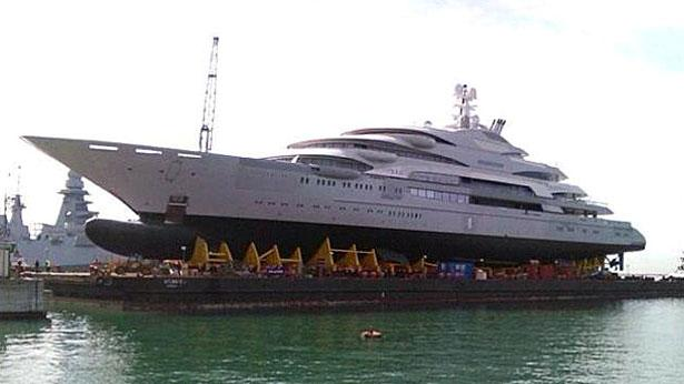 Top 200 largest yachts in the world Superyacht Ocean Victory