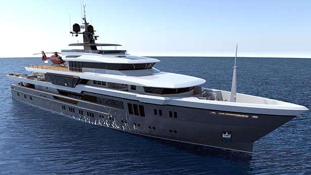 Castro Yacht Tony Castro 68m Explorer Yacht