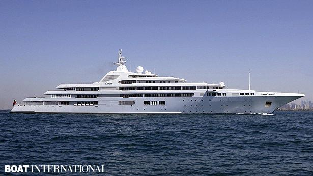 Top 200 largest yachts in the world Superyacht Dubai
