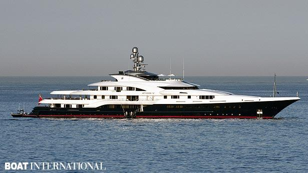 Top 200 largest yachts in the world Superyacht Atessa IV