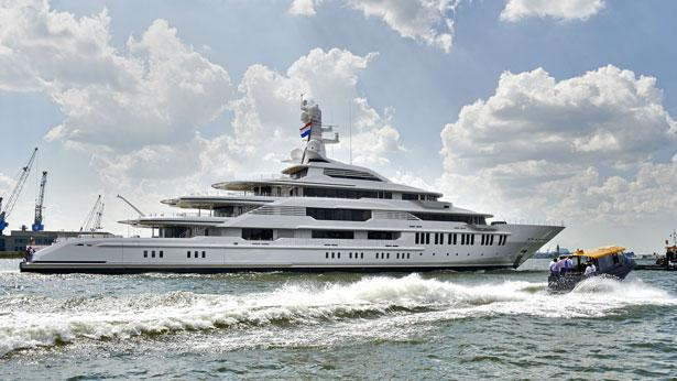 Top 200 largest yachts in the world Superyacht Infinity