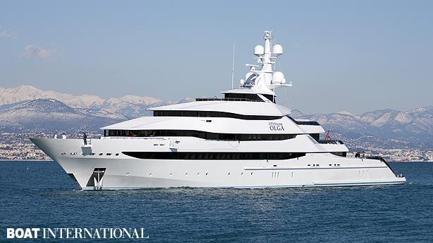 Top 200 largest yachts in the world Superyacht St. Princess Olga