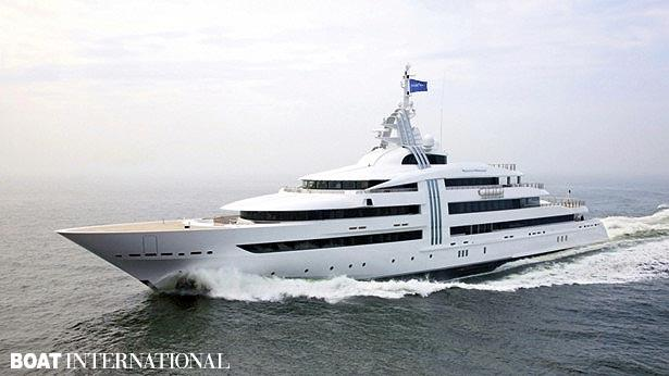 Top 200 largest yachts in the world Superyacht Vibrant Curiosity