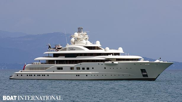 Top 200 largest yachts in the world Superyacht Dilbar