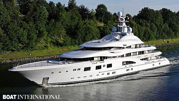 Top 200 largest yachts in the world Superyacht Valerie