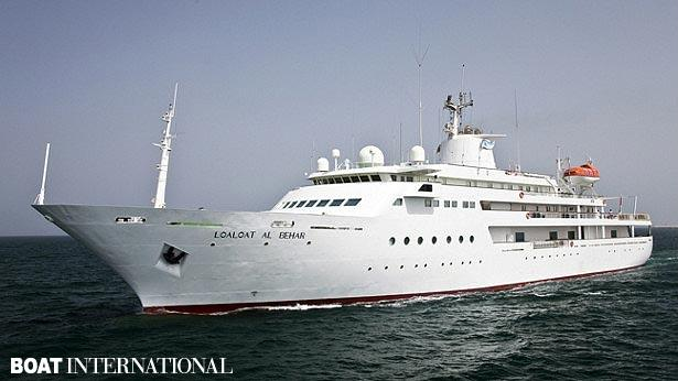 Top 200 largest yachts in the world Superyacht Loaloat al-Behar