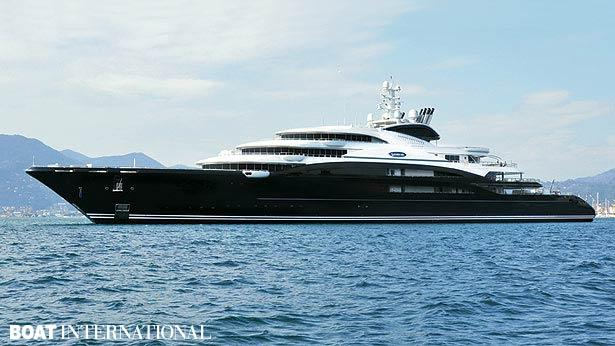 Top 200 largest yachts in the world Superyacht Serene