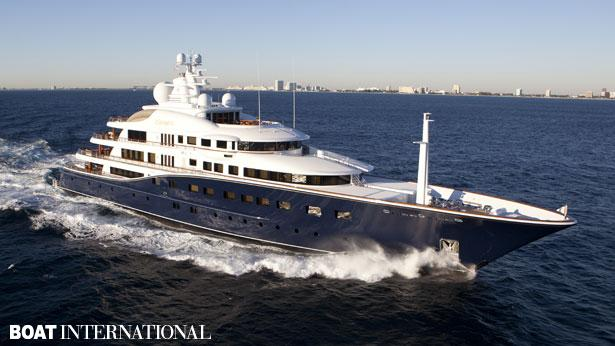 Top 200 largest yachts in the world Superyacht Aquila