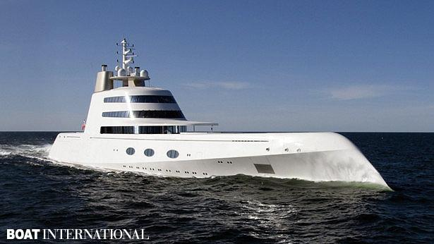 Top 200 largest yachts in the world Superyacht A