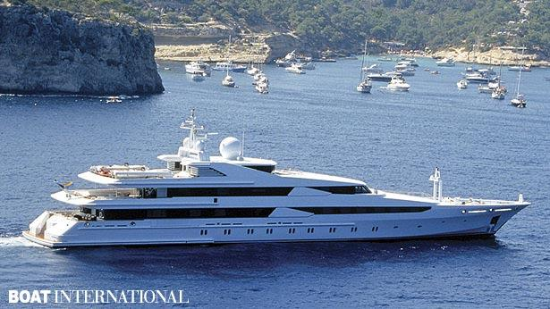 Top 200 largest yachts in the world Superyacht Constellation