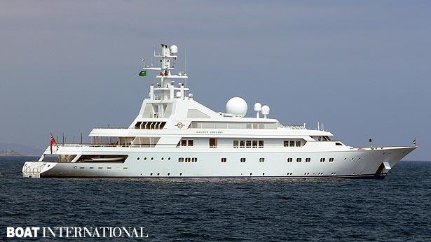 Top 200 largest yachts in the world Superyacht Golden Odyssey