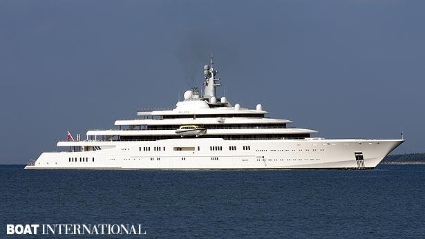Top 200 largest yachts in the world Superyacht Eclipse