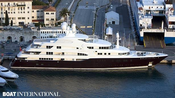 Top 200 largest yachts in the world Superyacht Sarafsa