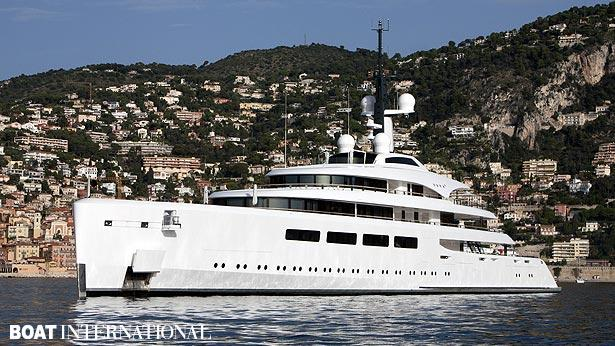 Top 200 largest yachts in the world Superyacht Vava II