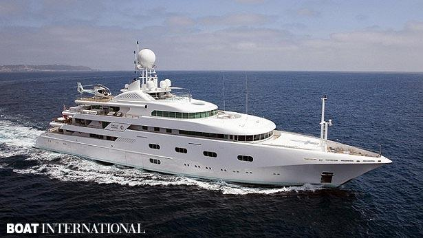 Top 200 largest yachts in the world Superyacht Pegasus V