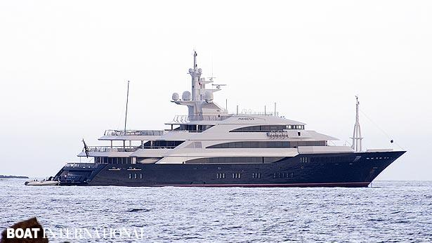 Top 200 largest yachts in the world Superyacht Amevi