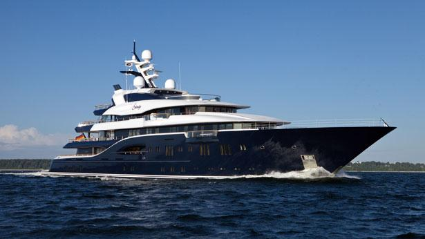 Top 200 largest yachts in the world Superyacht Solandge