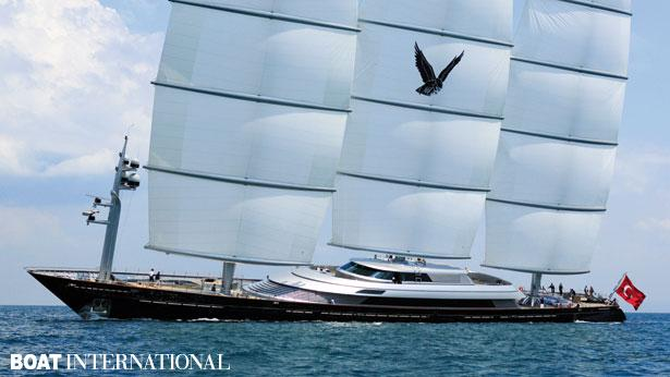 Top 200 largest yachts in the world Superyacht Maltese Falcon