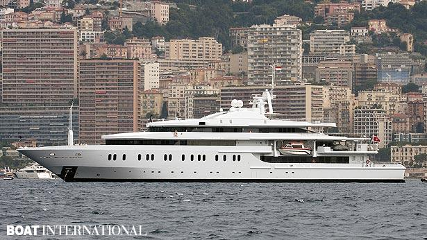 Top 200 largest yachts in the world Superyacht Moonlight II