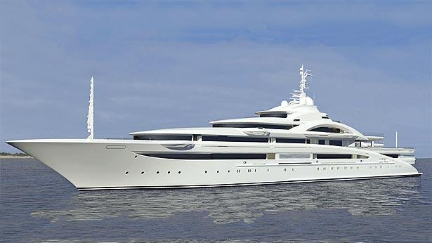 Top 200 largest yachts in the world Superyacht Maryah