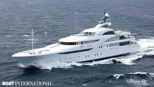 Top 200 largest yachts in the world Superyacht Graceful