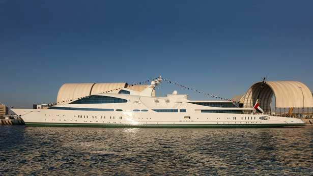 Top 200 largest yachts in the world Superyacht Yas