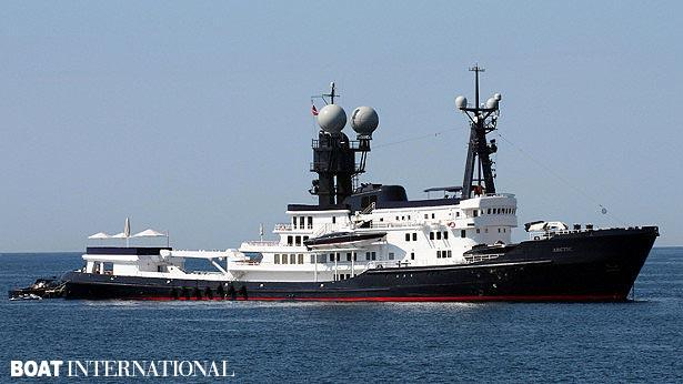 Top 200 largest yachts in the world Superyacht Arctic P