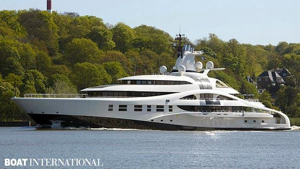 Top 200 largest yachts in the world Superyacht Palladium
