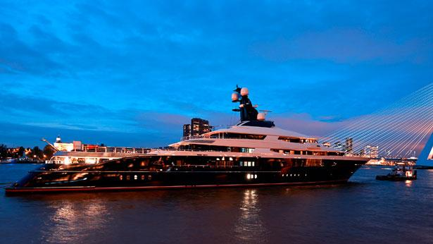 Top 200 largest yachts in the world Superyacht Equanimity