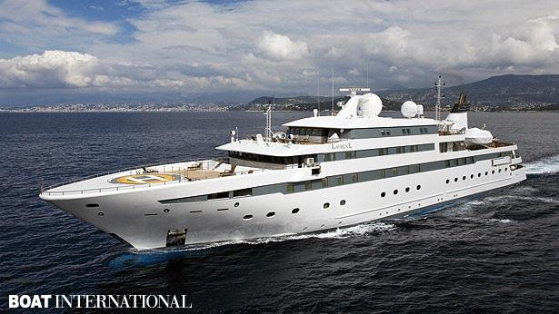 Top 200 largest yachts in the world Superyacht Lauren L