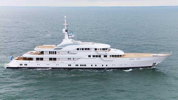 Top 200 largest yachts in the world Superyacht Hampshire II