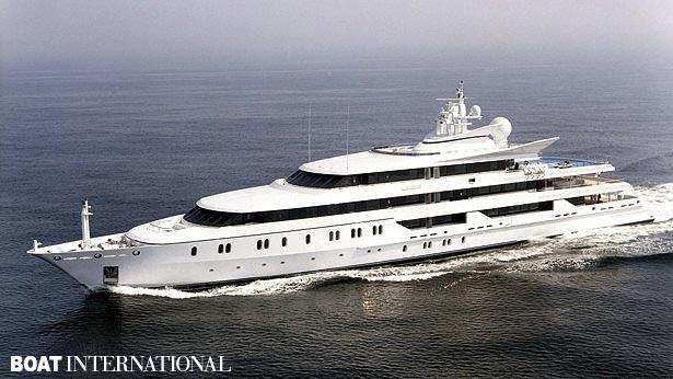 Top 200 largest yachts in the world Superyacht Indian empress