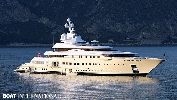 Top 200 largest yachts in the world Superyacht Pelorus