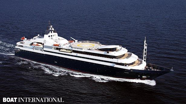 Top 200 largest yachts in the world Superyacht Turama