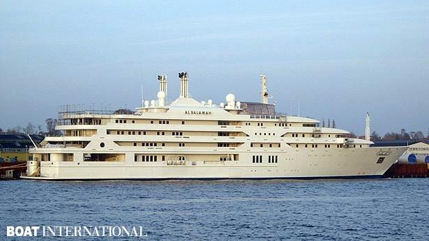 Top 200 largest yachts in the world Superyacht Al Salamah