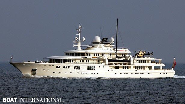 Top 200 largest yachts in the world Superyacht Tatoosh
