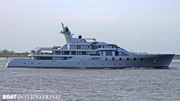 Top 200 largest yachts in the world Superyacht Pacific